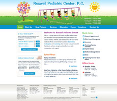 Client: Roswell Pediatric Center